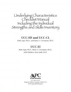 UCC Manual